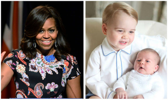 Michelle Obamas gifts for Princess Charlotte and Prince
