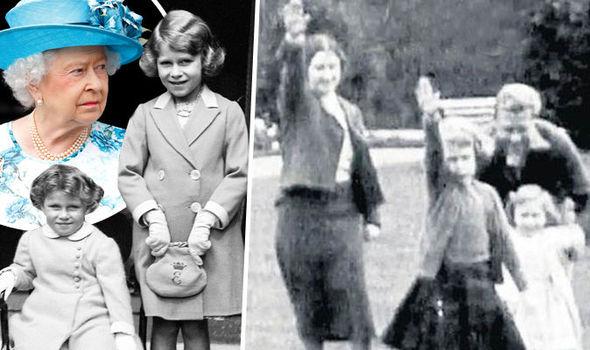 The queen salute