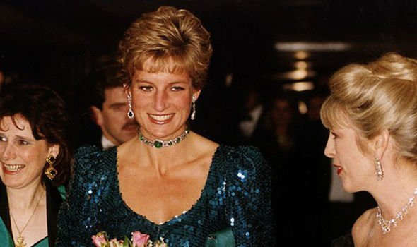 Diana with her ally Kanga in 1990