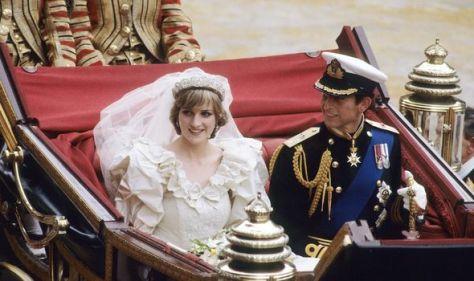 Diana and Charles' wedding