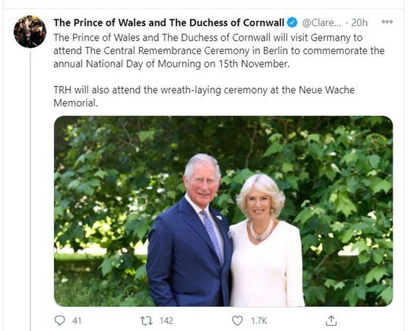 Prince Charles and Camilla: Expert defends royals' Germany ...