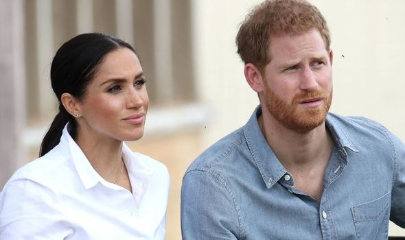 Prince Harry and Meghan Markle made the claims on Oprah