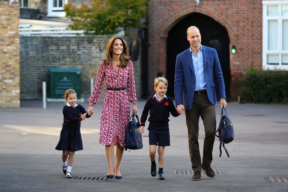 Prince William and family