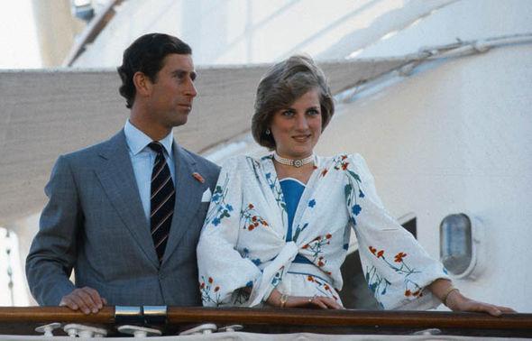 Princess Diana and and Charles