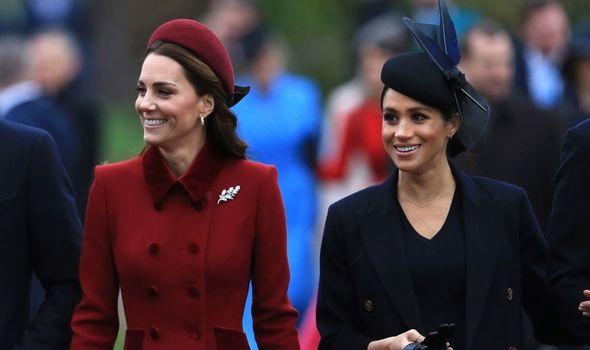 Royal family: Kate Middleton and Meghan Markle on Christmas Day 2018