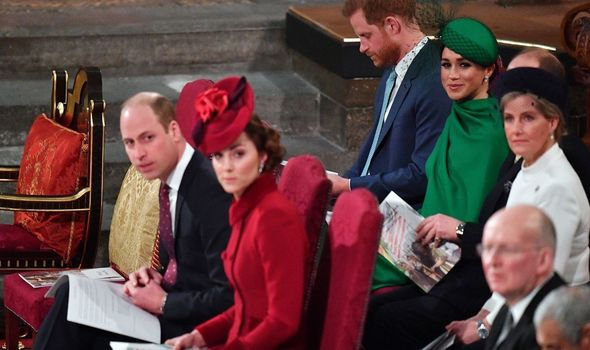 Royal news: it was one of the last events of Harry and Meghan