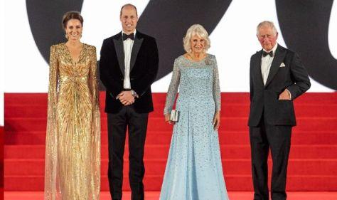 Royals at Bond Premiere