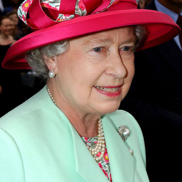Queen Elizabeth II in her Golden Jubilee year