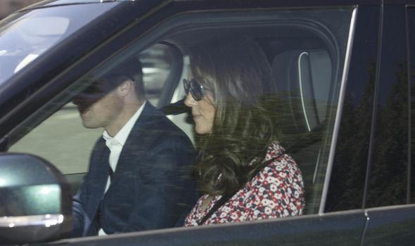 Kate Middleton arriving