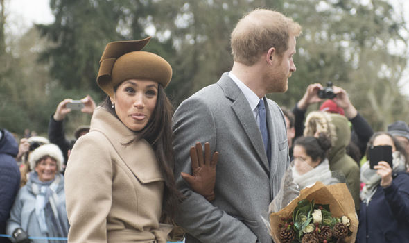 Meghan Markle Joins The Queen For Sandringham Church