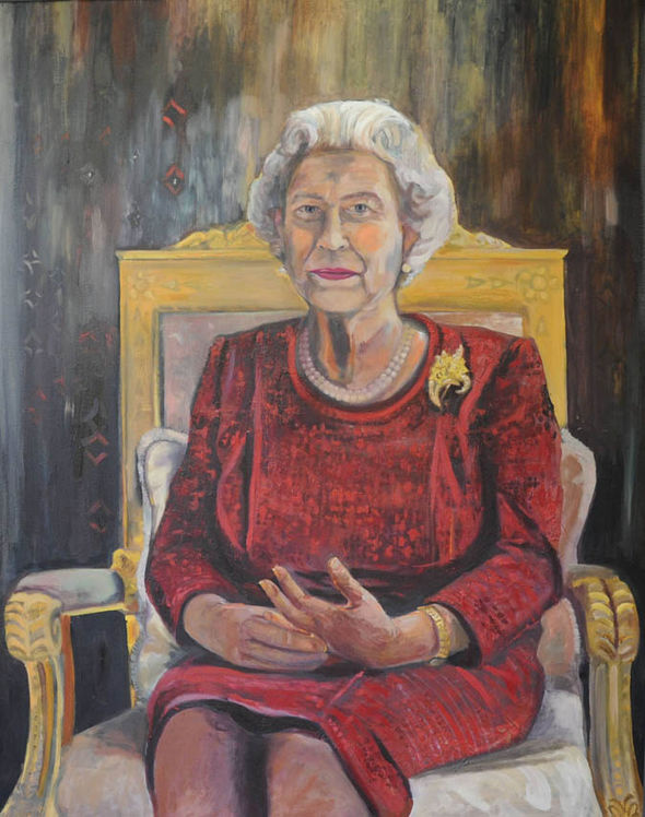 Anger At 'awful' New Portrait Of Grimfaced Queen  Royal