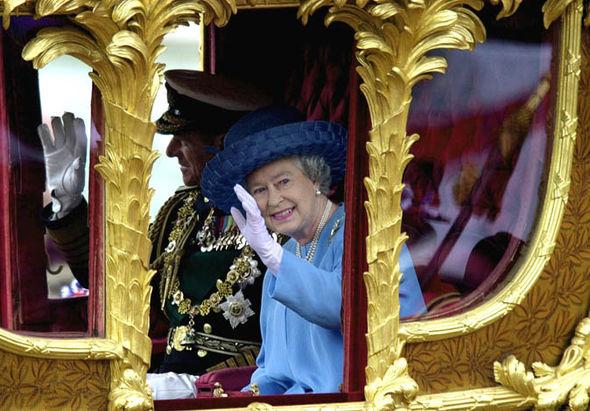 Queen at her golden jubilee