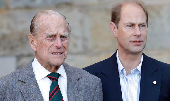 queen news heartbreak prince edward interview prince philip royal family news