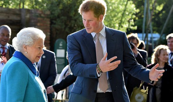 queen prince harry news relationship baby name lilibet diana meghan markle royal family