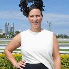 Wheelchair Express Reading Chairs Uk Zara Phillips In Diamond Jewellery At Australia's Magic Millions Race Day | Royal News ...