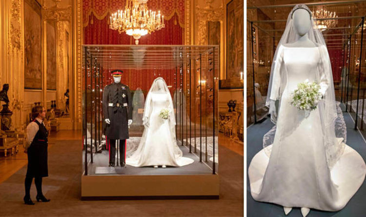 Meghan Markle Wedding Dress: Royal Wedding Exhibition