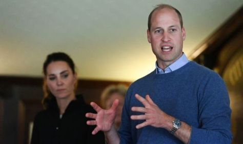 Kate and William attempt to learn Irish lingo - 'Going to have another drink!'