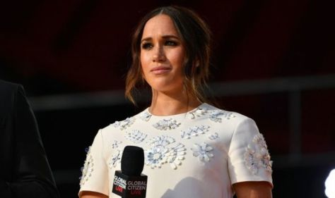 Meghan Markle's Diana inspired handbag sells out online after NYC visit - 'That was quick'