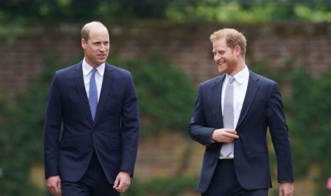 Prince William name-checks Harry in rare show of unity in Diana statue speech