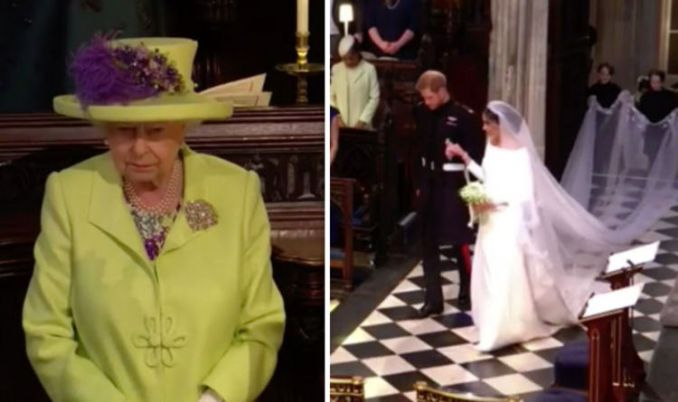 Royal Wedding viewers in meltdown saying Meghan DIDN'T curtsey to Queen