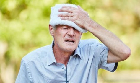High blood pressure symptoms: Does hypertension make you feel hot?