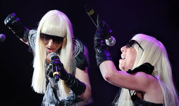 Lady Gaga has been performing while in pain