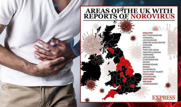Norovirus outbreak: Where has the virus spread in the UK? Symptoms ...