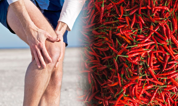 Arthritis: Capsaicin, extracted from chillis, is an effective painkiller