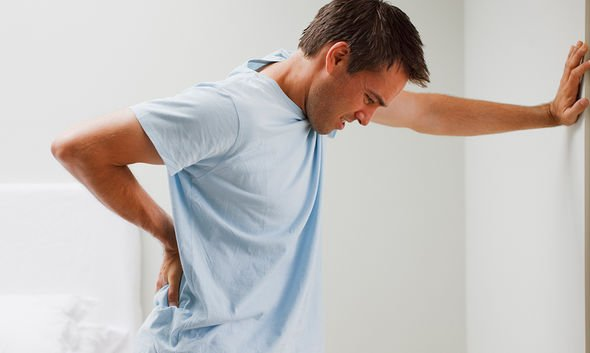 Back pain exercise: Speak to a doctor if your back