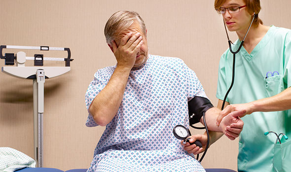Blood pressure is recorded in two numbers - the systolic pressure and the diastolic pressure