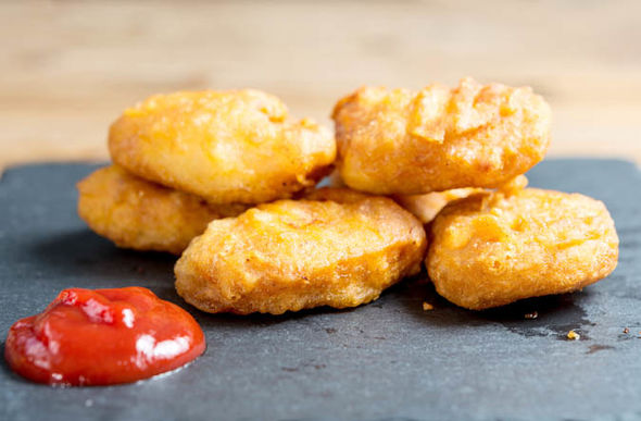 Chicken nuggets are on the list of dangerous foods