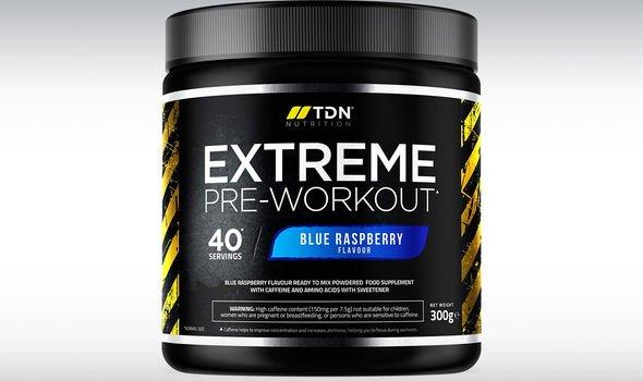 Extreme Pre-Workout Powder
