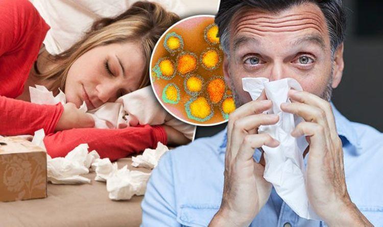 Swine flu symptoms: Virus infection in UK - signs include red eyes ...