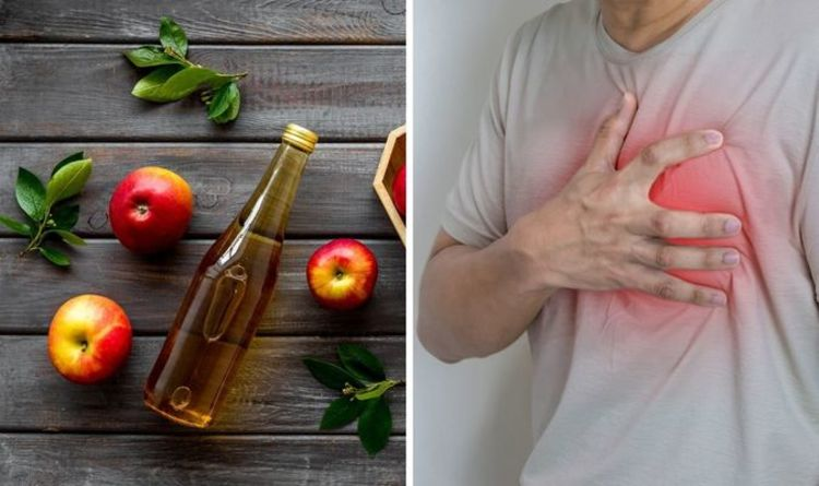 Is apple cider vinegar good for heartburn?