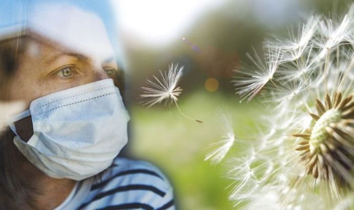 Covid UK latest: Exposure to pollen could increase a person's risk of developing COVID-19