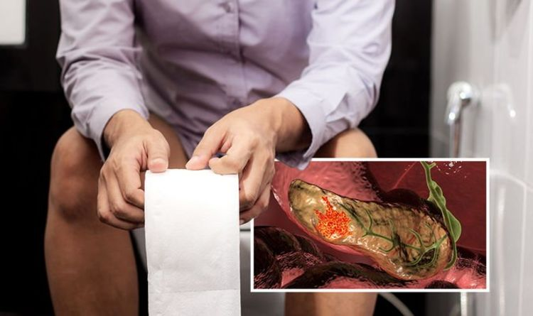 Pancreatic cancer symptoms: Five visual warning signs in your poo - 'grey and oily'