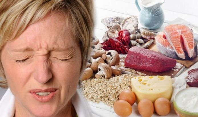 Vitamin B12 deficiency: Two major warning signs in your face you're lacking the vitamin