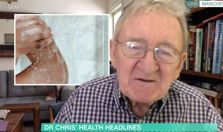 This Morning's Dr Chris issues health warning about showering every day