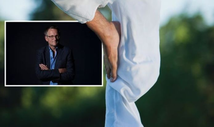Dr Michael Mosley reveals how standing on one leg every day can have huge health benefits