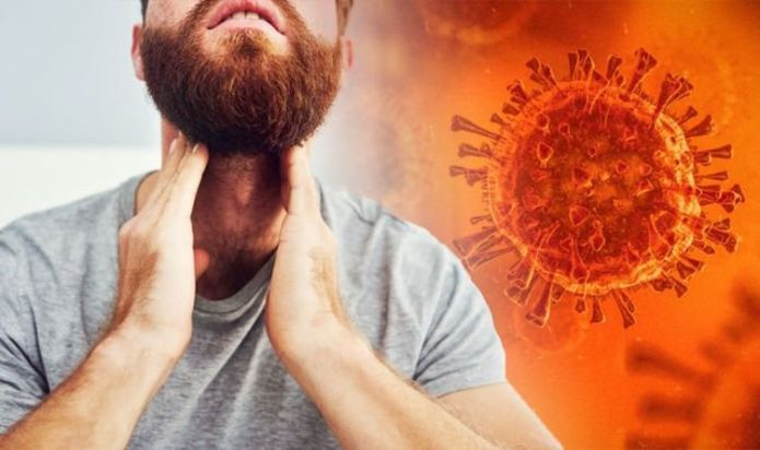 Delta variant: Sore throat among the top three symptoms says researcher