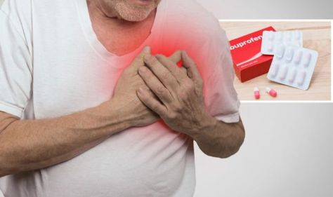 Ibuprofen side effects: Painkiller can increase risk of three life-threatening conditions
