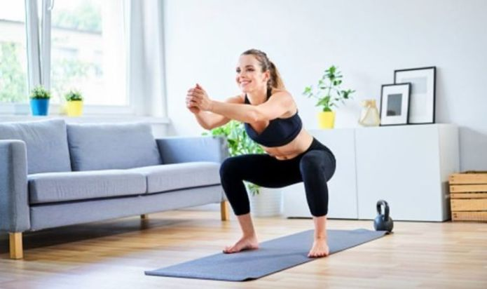 Is working out at home good enough? An Olympian weighs in