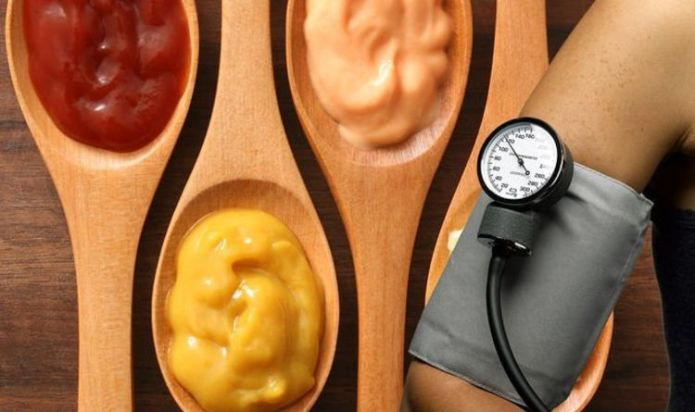High blood pressure: Three condiments to avoid or risk a high blood pressure reading