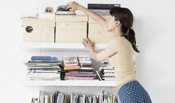 Image result for cleaning up clutter