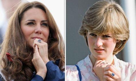 Three stunning jewellery items Kate Middleton inherited from Princess Diana