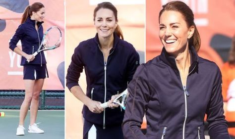 Kate Middleton opts for sporty get-up to meet Tennis Champion Emma Raducanu