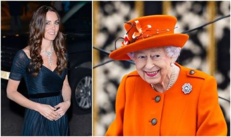 The Queen's glittering brooch had sweet nod to Kate Middleton & Philip – 'trembling piece'