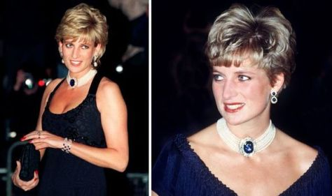 Diana's 'revenge dress' necklace started life as a brooch worth a whopping £100million