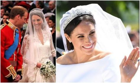 Meghan Markle bought own £110,000 wedding dress unlike Kate - gown shows 'empowerment'