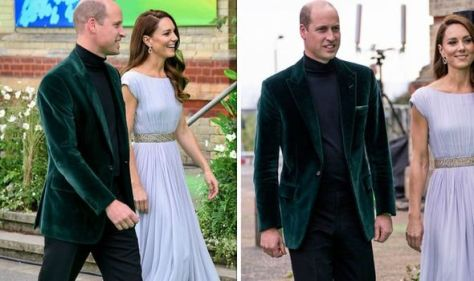Prince William channels James Bond on the green carpet of the Earthshot Prize awards